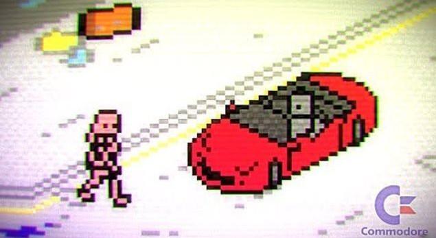 E se GTA V fosse stato sviluppato per Commodore 64?