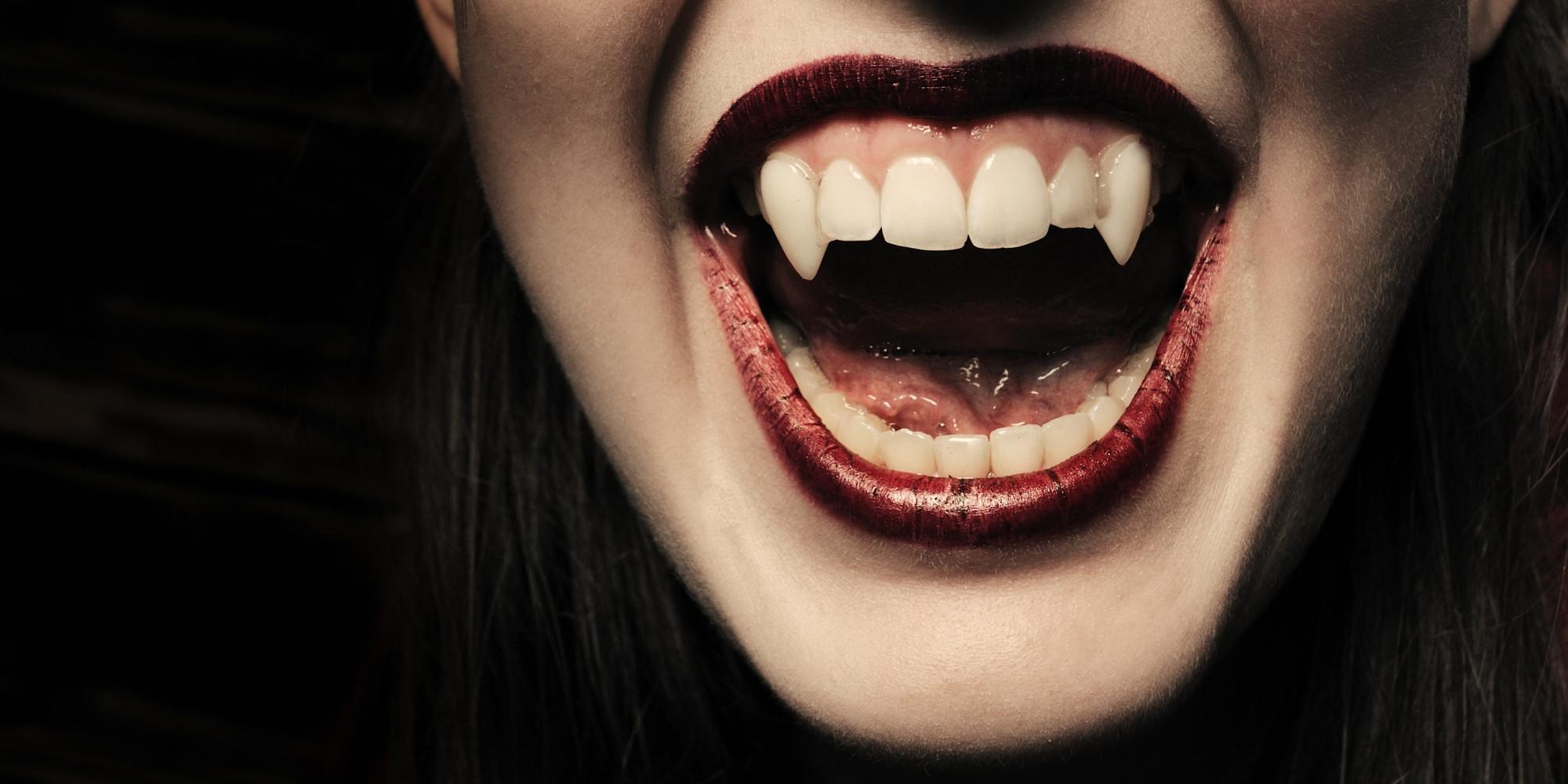 Vampire Teeth Drawings...
