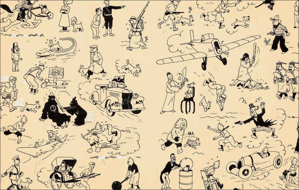 Record: pagina di Tintin venduta a 3.100.000$