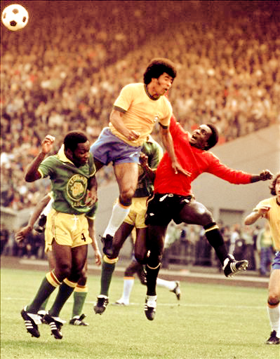 WORLD CUP-1974-BRAZIL-ZAIRE