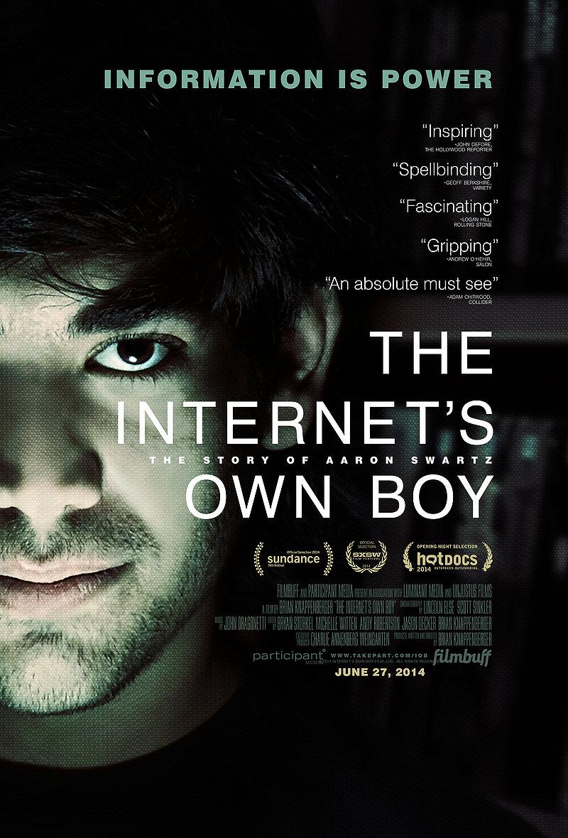 The Internet's Own Boy disponibile gratuitamente su Archive.org