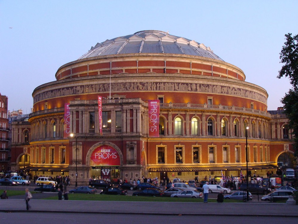 La Royal Albert Hall a Londra