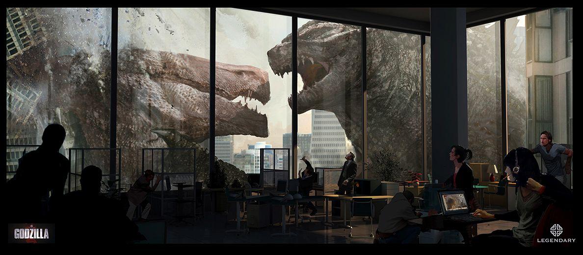Godzilla, ecco i concept art ufficiali