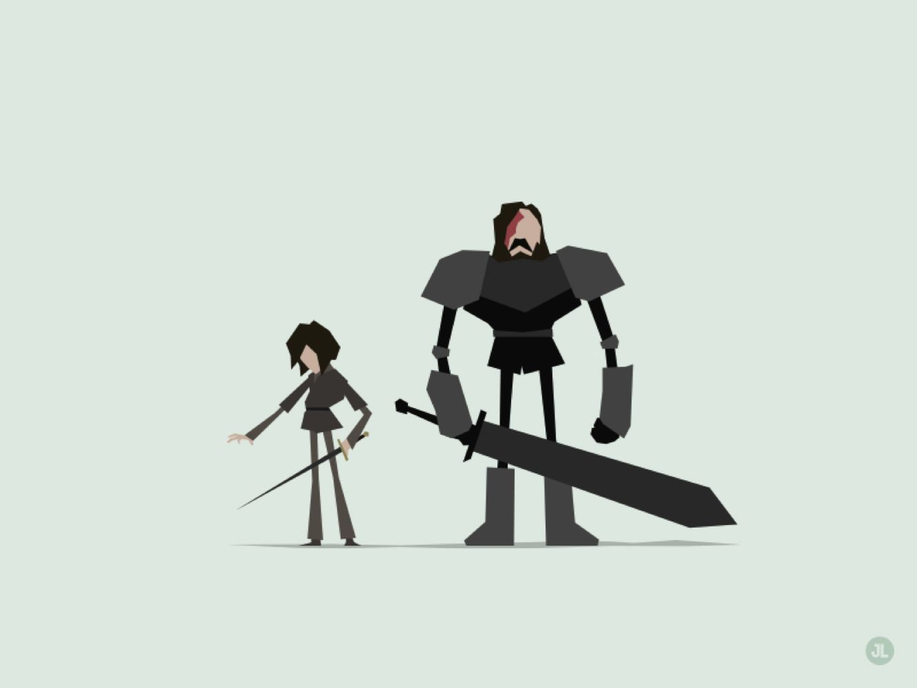 Minimal Game of Thrones by Jerry Liu