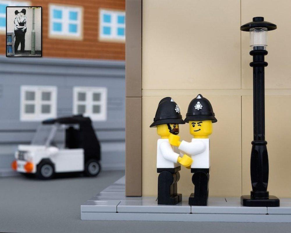 Bricksy: LEGO Banksy