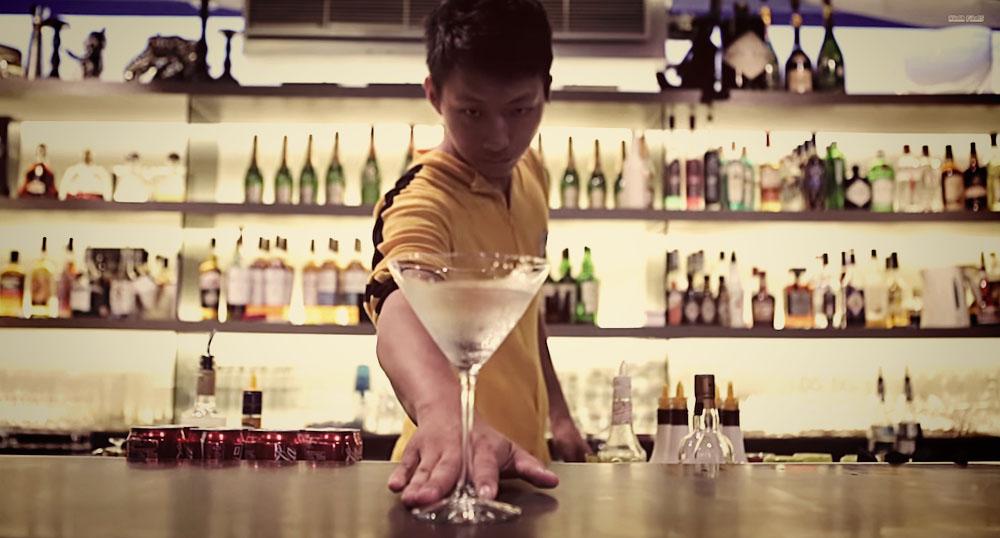 Bruce Lee Bartender