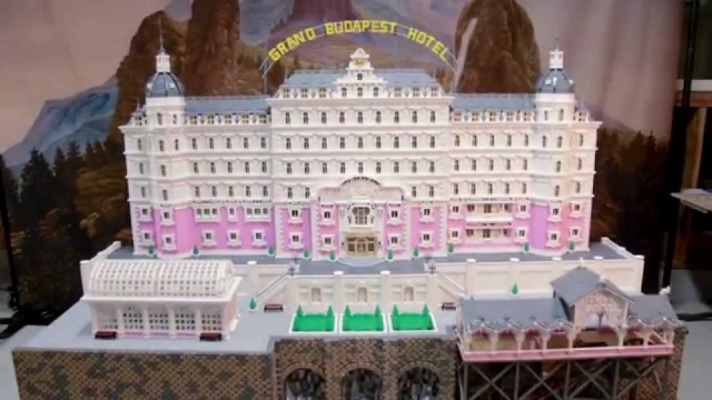The Grand Budapest Hotel Lego
