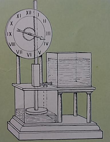 orologio a acqua