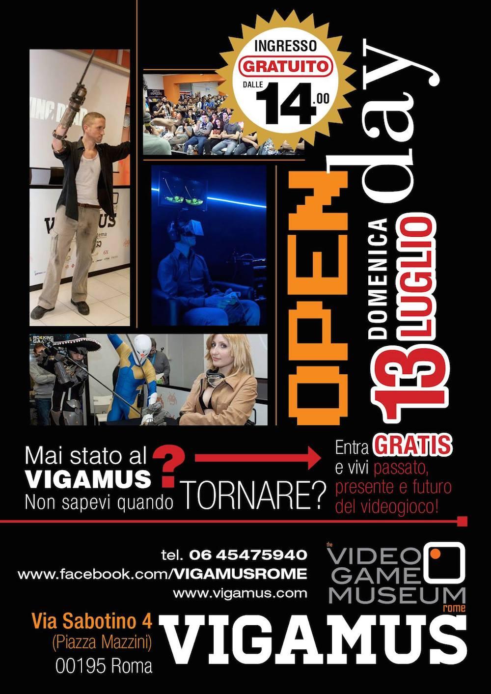 1st Open Day al Vigamus