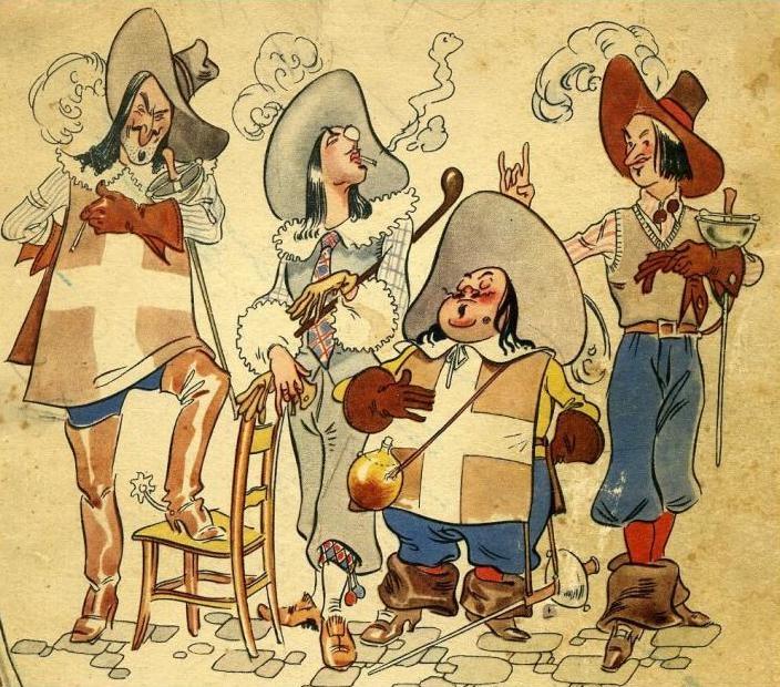 I Quattro Moschettieri di Nizza e Morbelli