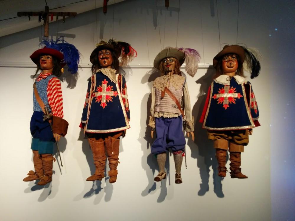 I quattro moschettieri - marionette