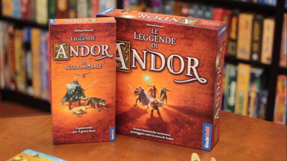 Le Leggende di Andor + Espansione Lo Scudo Astrale