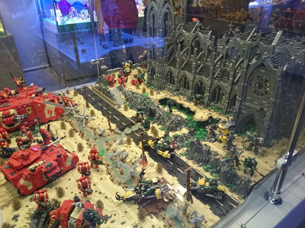 Lego Warhammer 40K Diorama_03