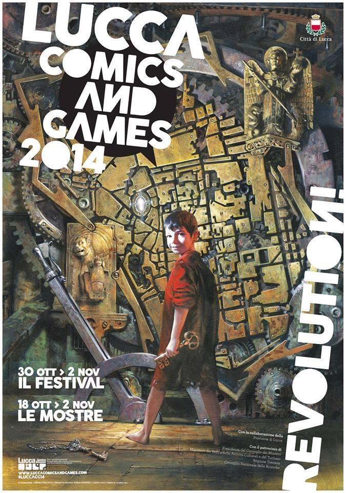 Tutti i dettagli di Lucca Comics & Games 2014, dal30 ottobre al 2 novembre