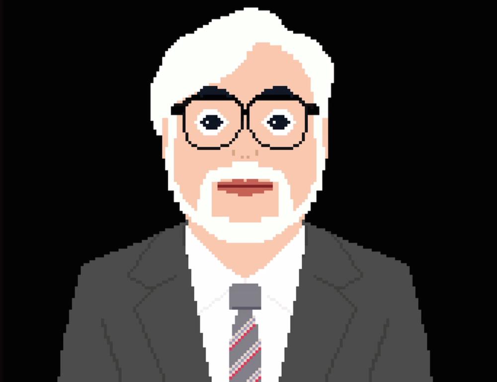 Hayao Miyazaki a 8-bit