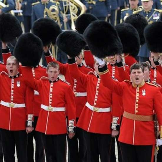 L'evoluzione dell'equipaggiamento di un soldato inglese
