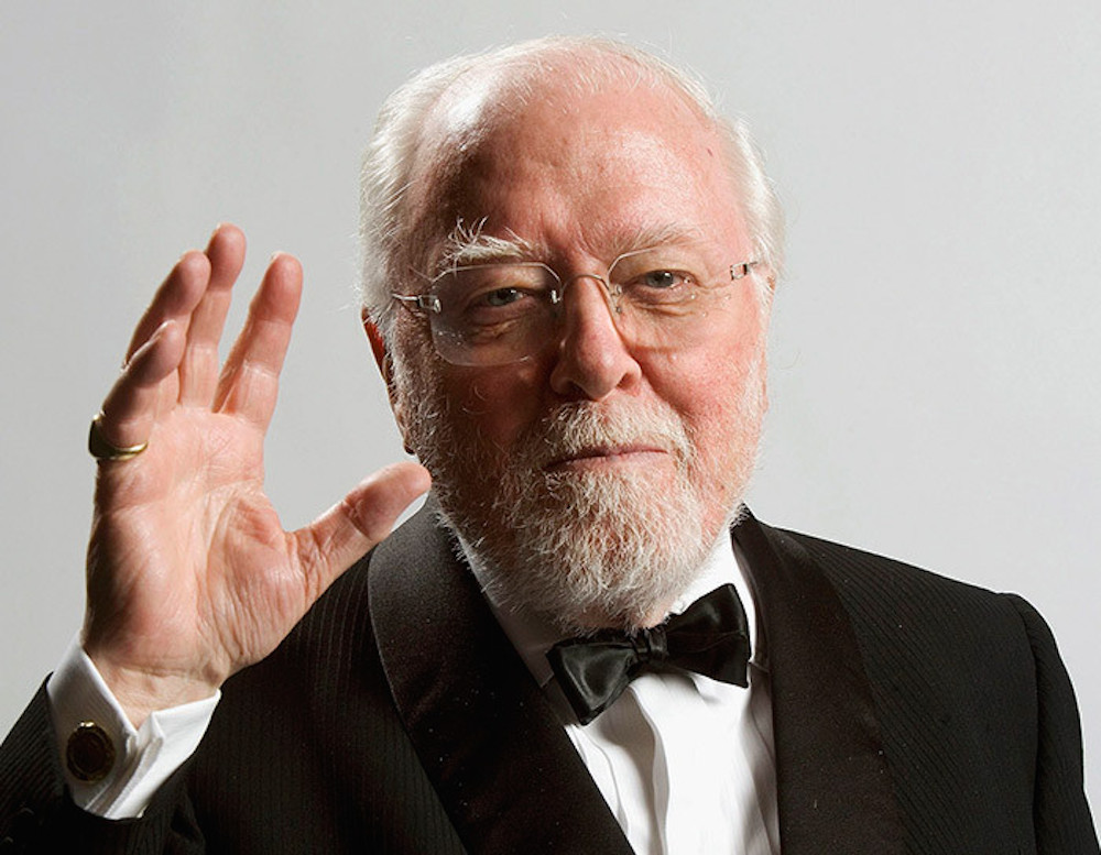 Richard Attenborough R.i.p. #LegaNerd