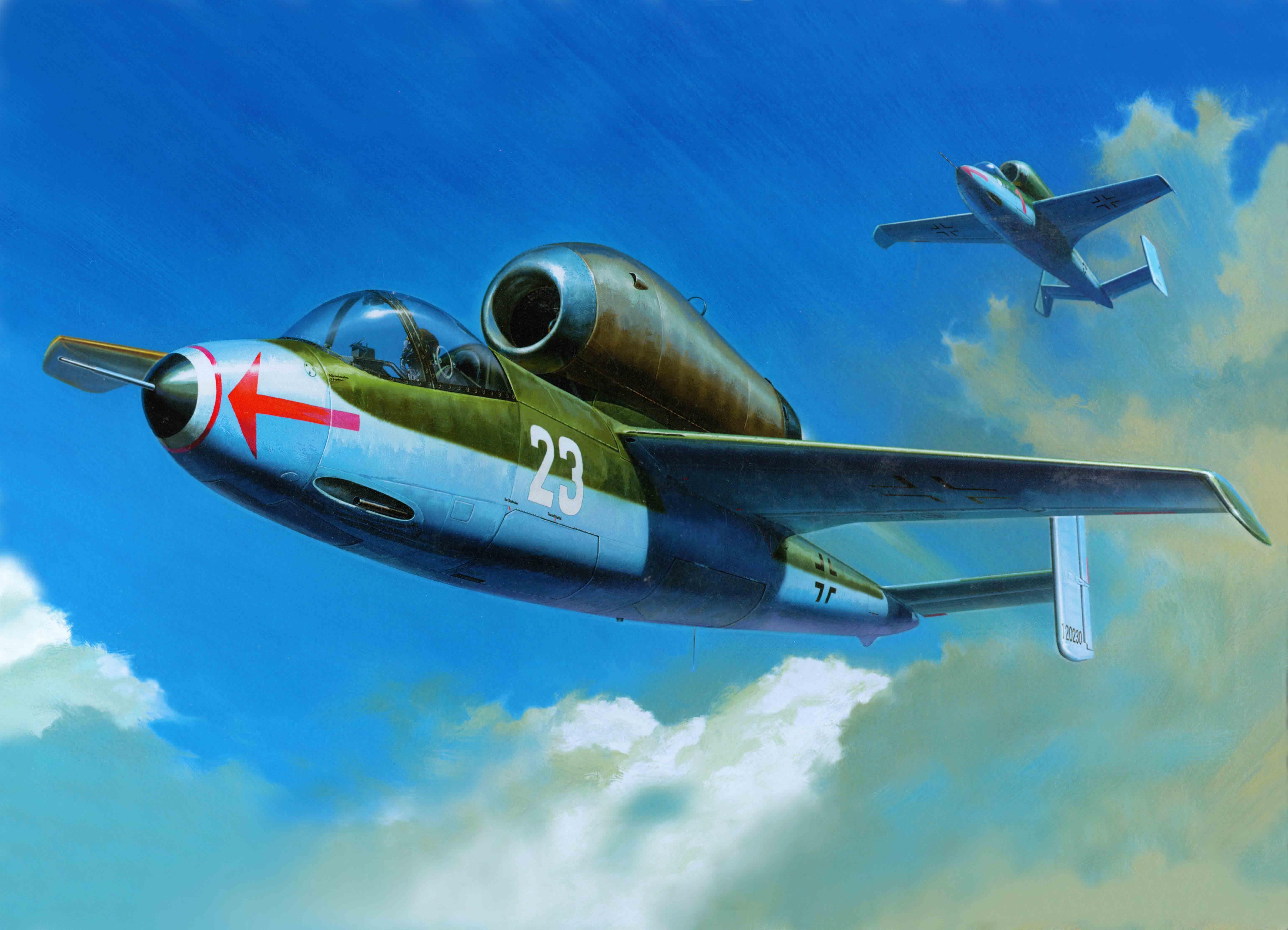 WunderWaffen: l'Heinkel 162