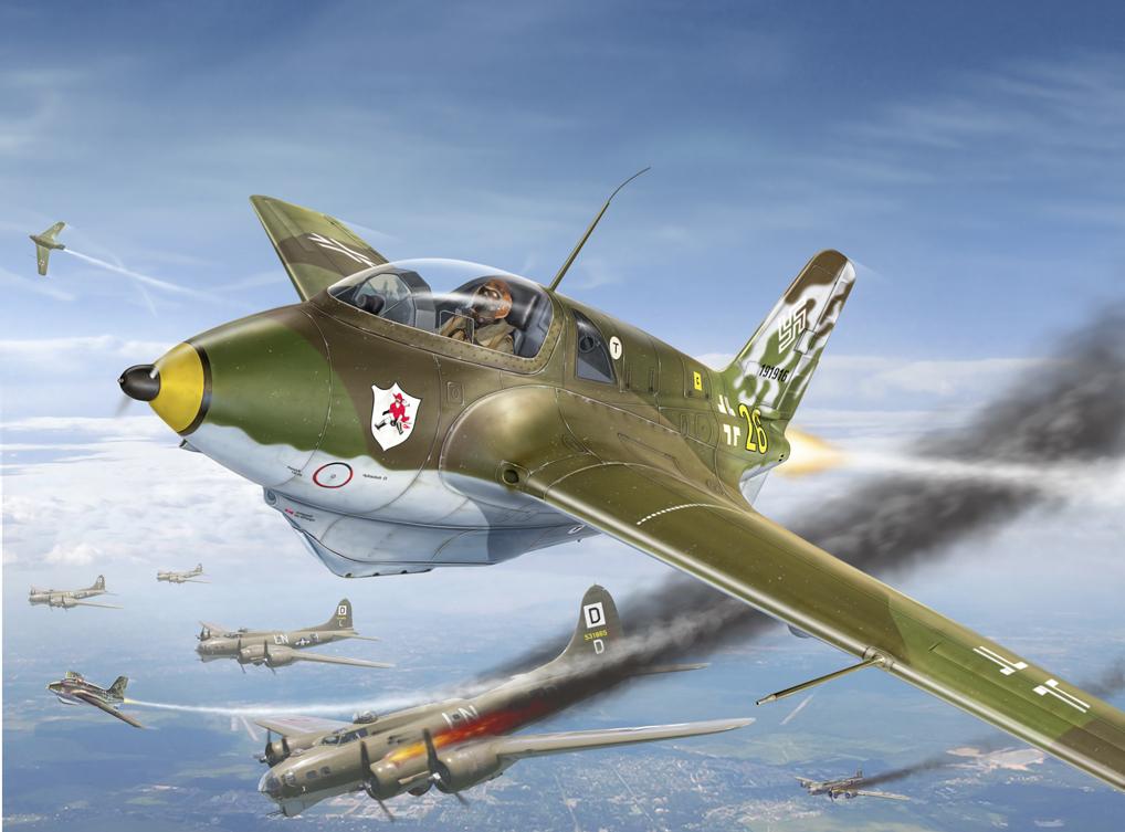 WunderWaffen: il Messerschmitt 163