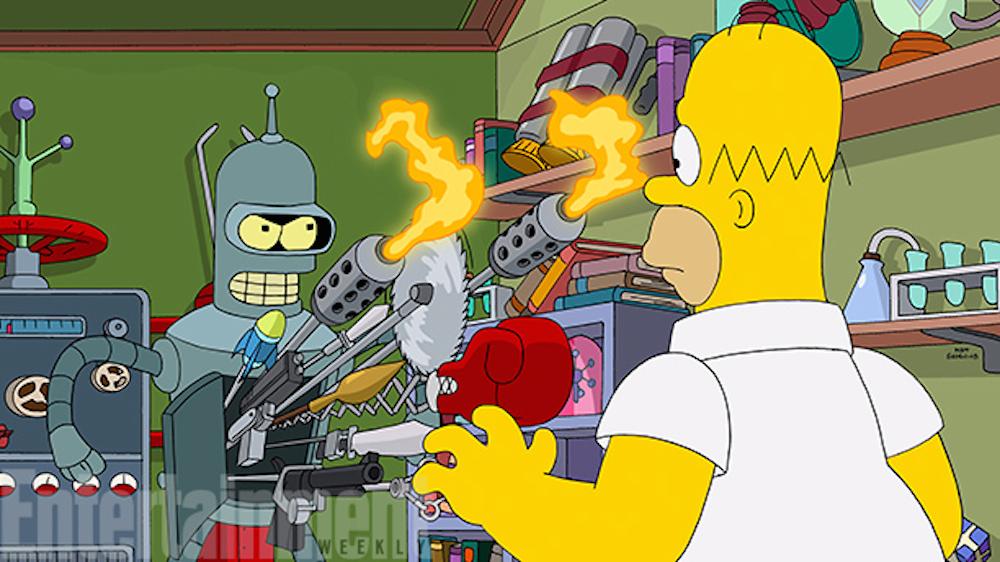 Futurama tornerà nei Simpsons