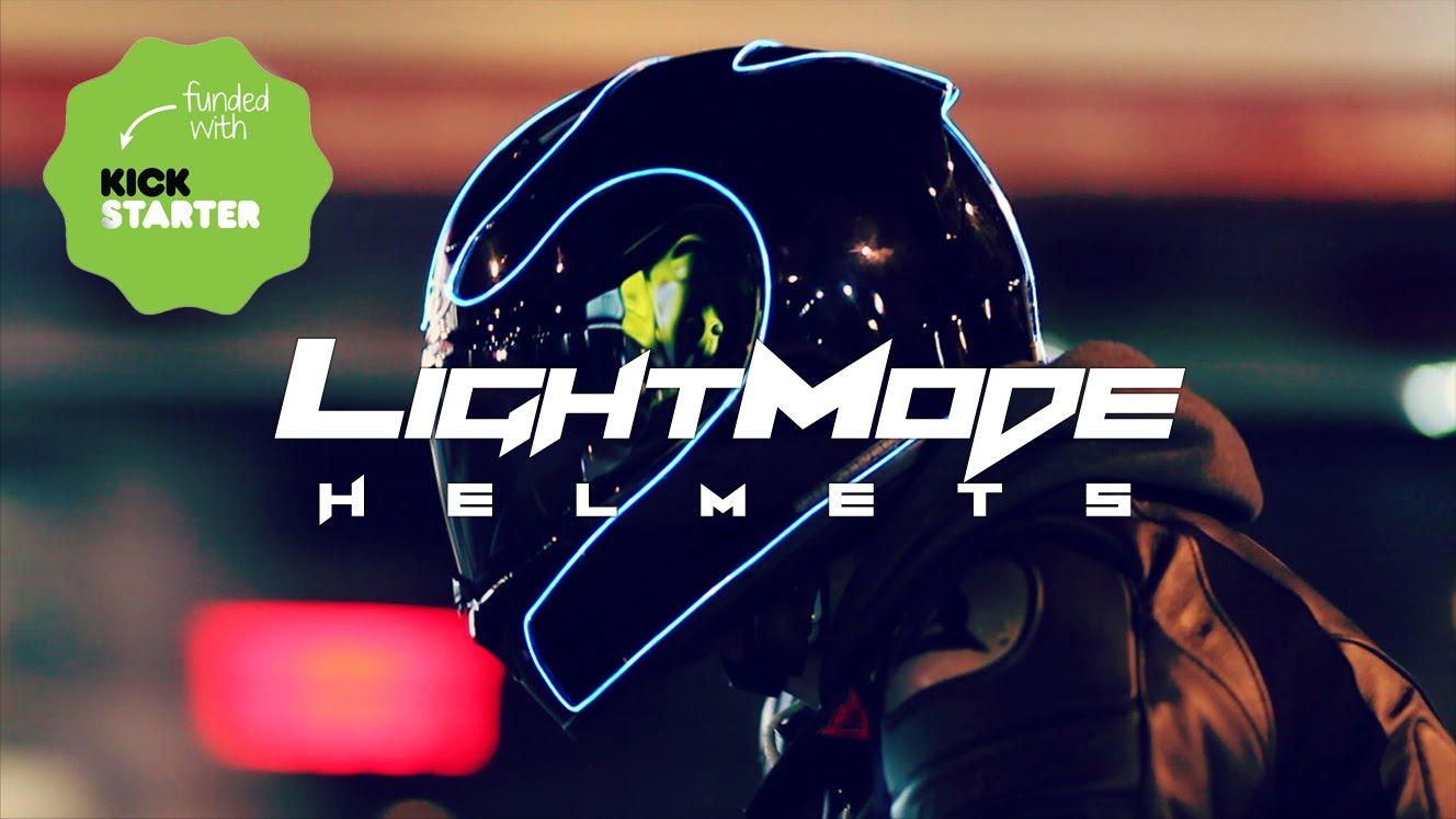 LightMode, il casco ispirato a Tron
