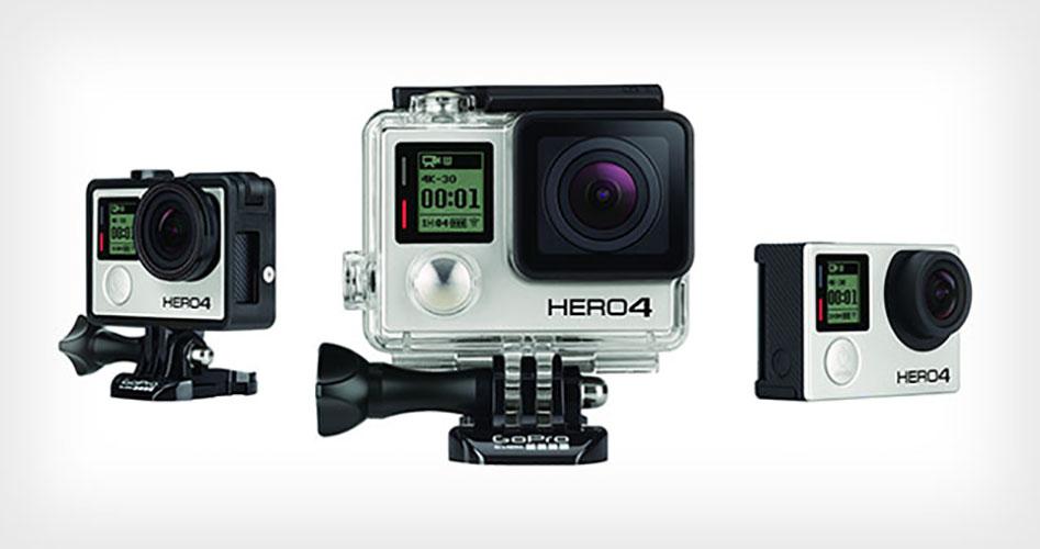 GoPro Hero 4: 1080/120, 4K/30 e schermo integrato con touchscreen