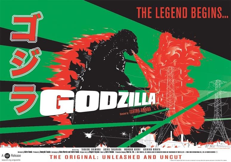 Godzilla Poster Collection