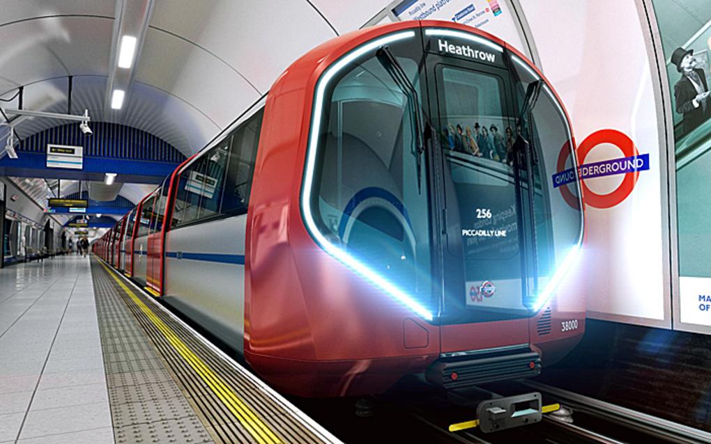 I nuovi treni della metropolitana di Londra