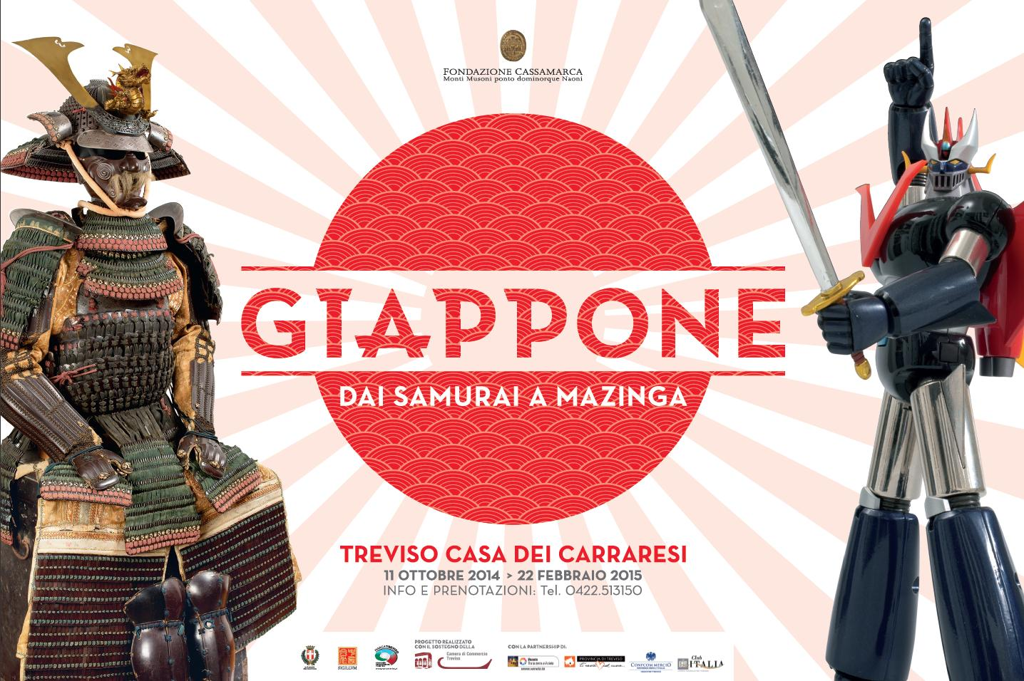 Giappone: dai Samurai a Mazinga - Dall'11 ottobre a Treviso