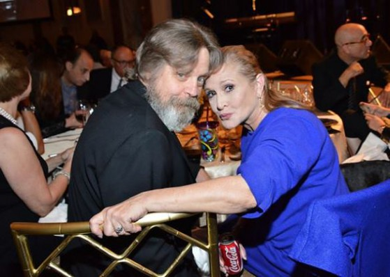Mark Hamill Carrie Fisher Settembre
