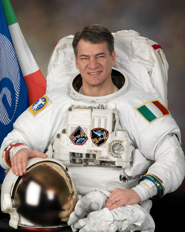 Paolo Nespoli al MUSE di Trento - sabato 11 ottobre