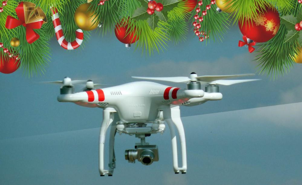 Un regalo amgnifico, il drone per natale