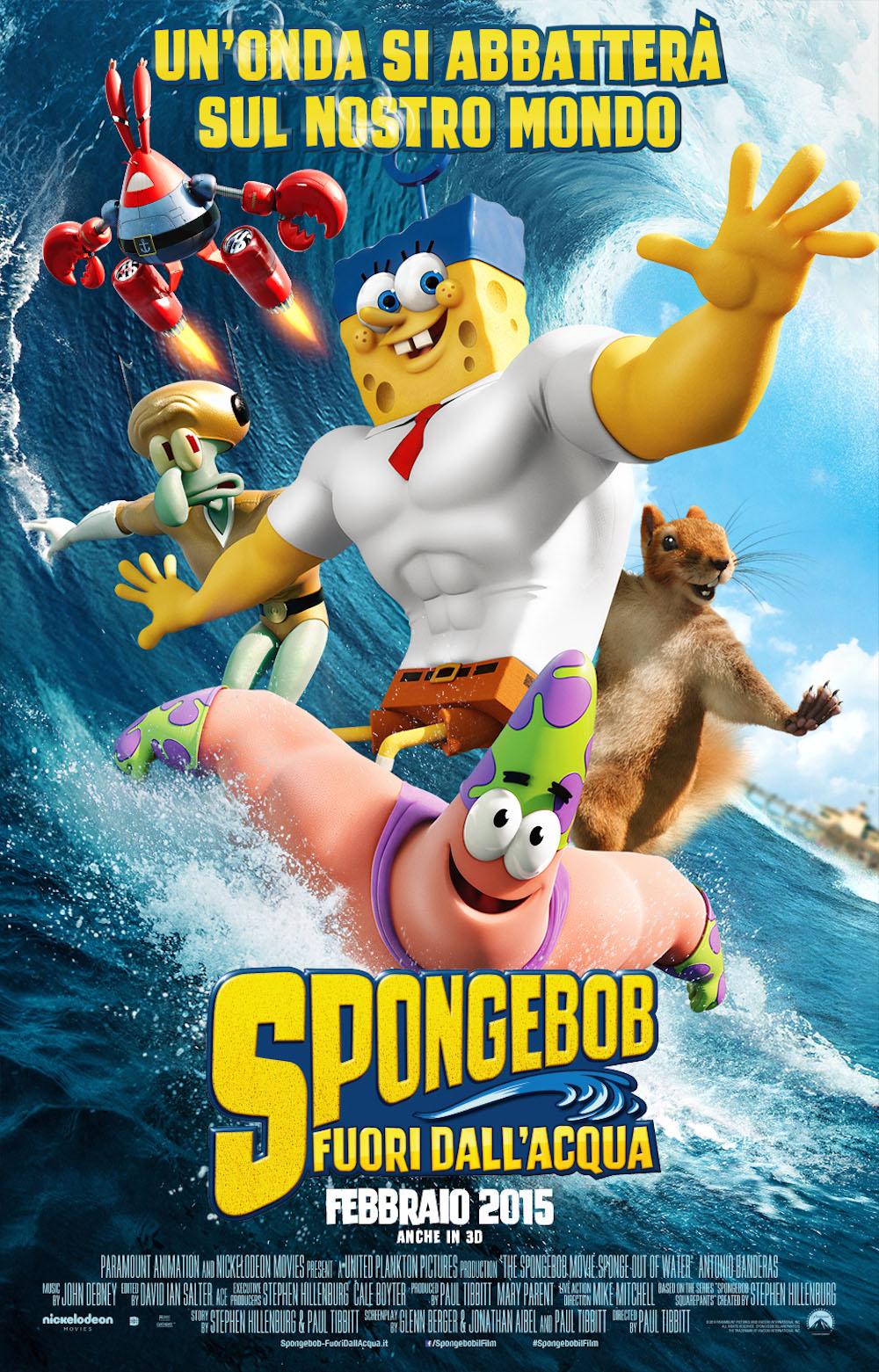 Spongebob Fuori dall'acqua - Trailer Italiano