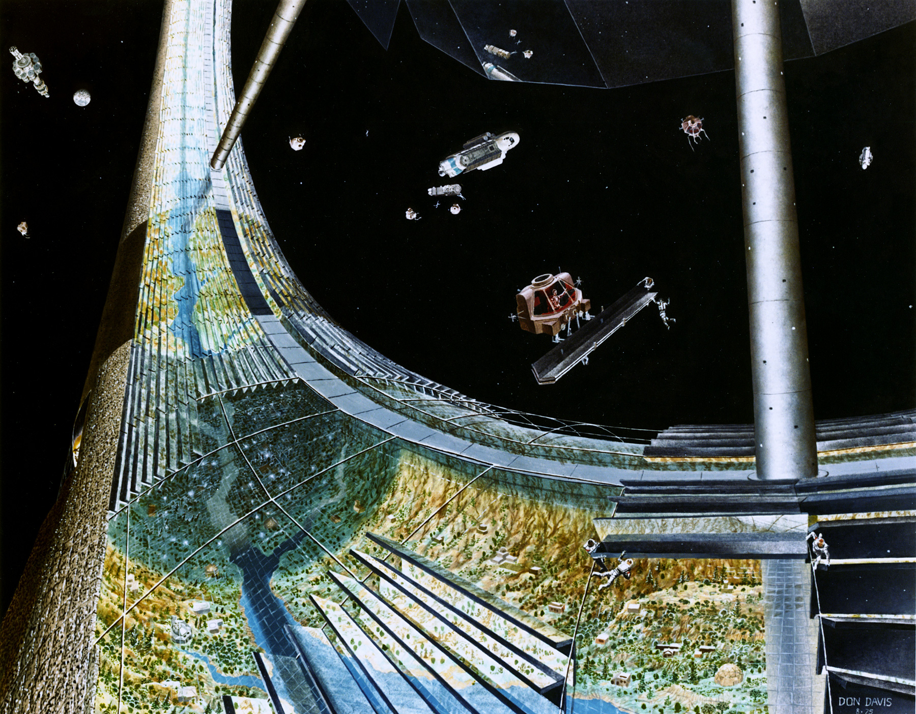 ECLSS: Sopravvivere su una stazione orbitante