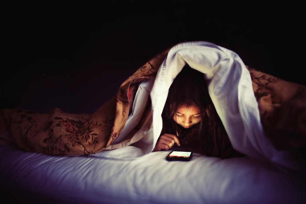 Gli effetti della tecnologia a letto - Infografica