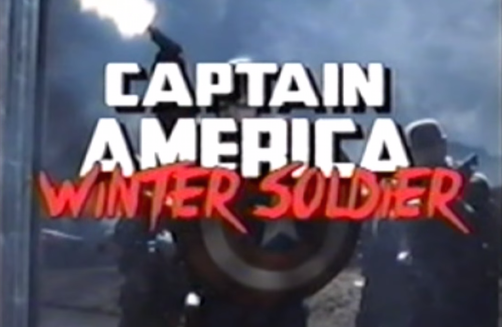 Captain America: The Winter Soldier - VHS Trailer
