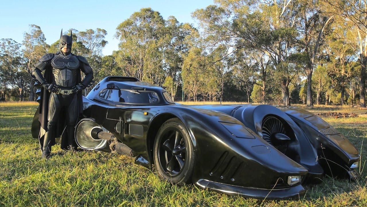 Una vera Batmobile per le strade dell'Australia