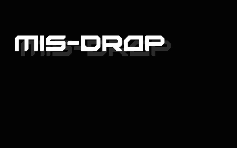 Mis-Drop - Cortometraggio