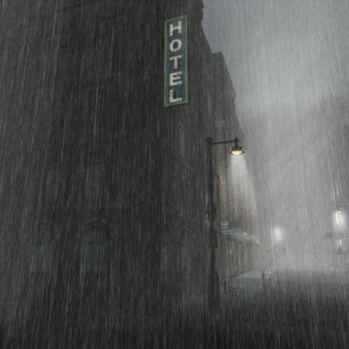 Città pioggia