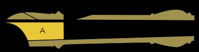 Sezione trasversale dell'imbopccatura di un flauto dolce