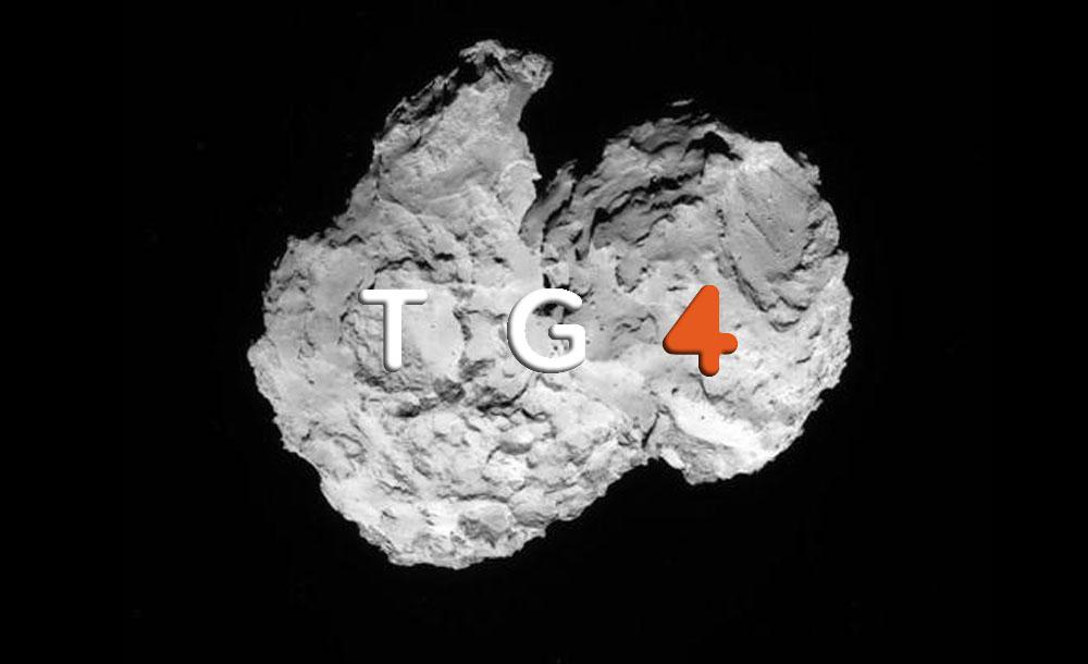 La missione Rosetta secondo il TG4