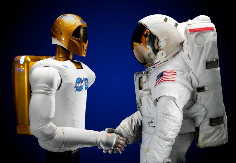 Robonaut handshake