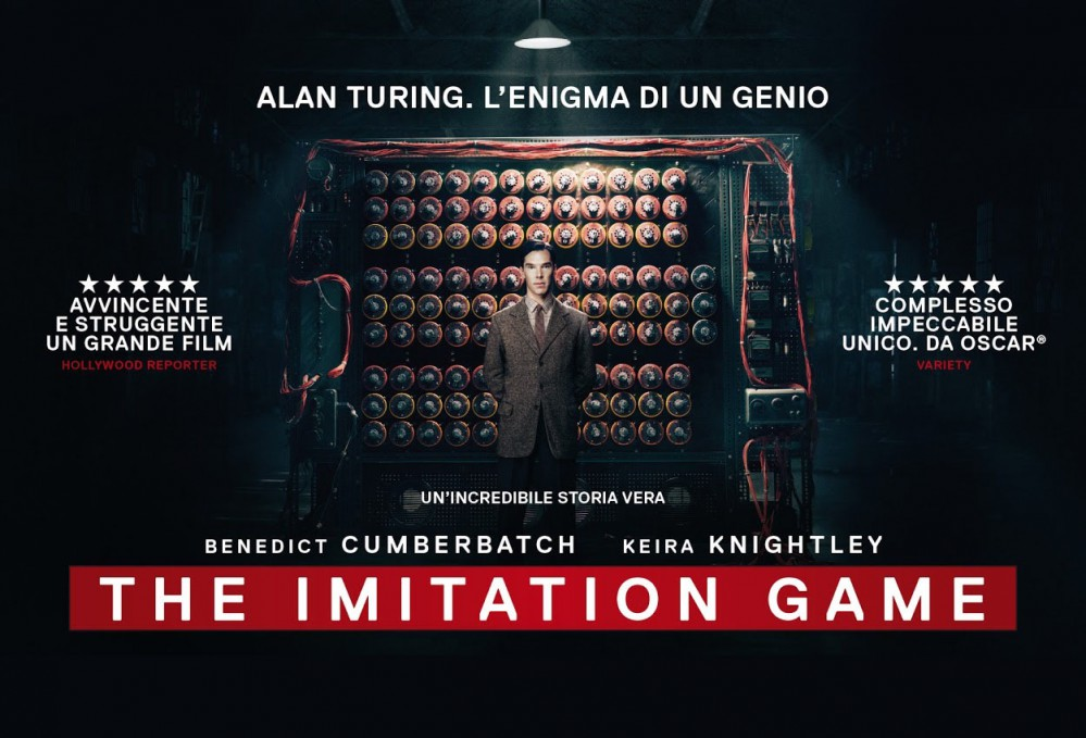 The Imitation Game - poster banner
