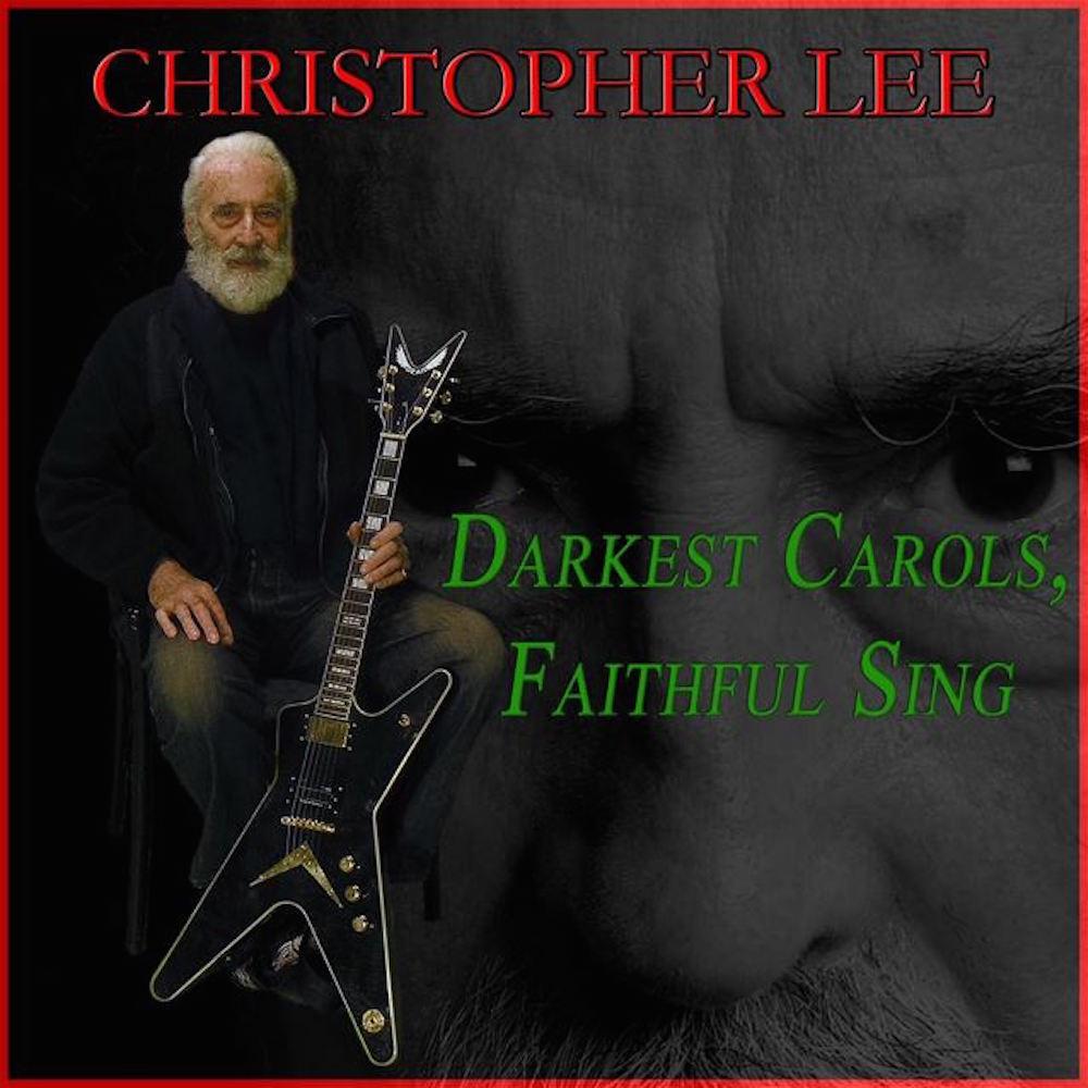 Buon Metal Natale da Christopher Lee