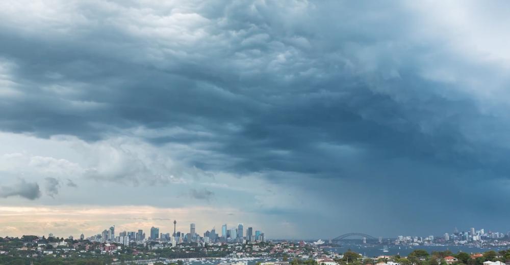 Sydney Super Storm - Timelapse