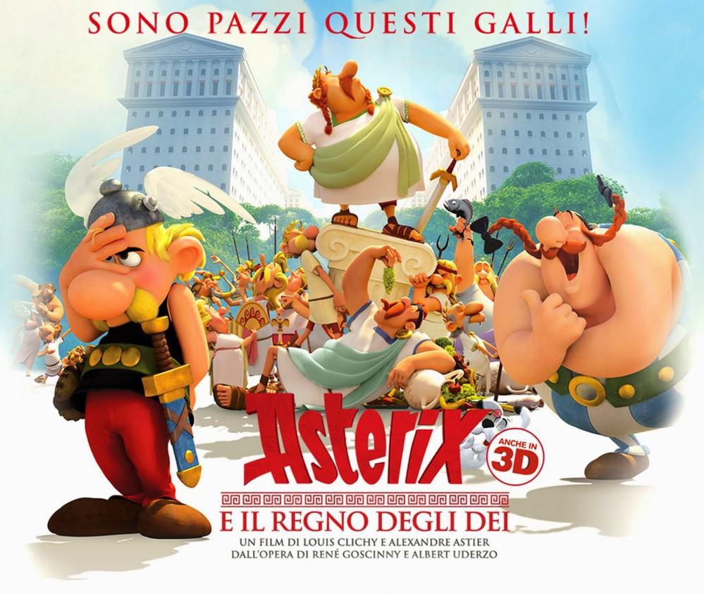 Asterix e il Regno degli Dei - Il film