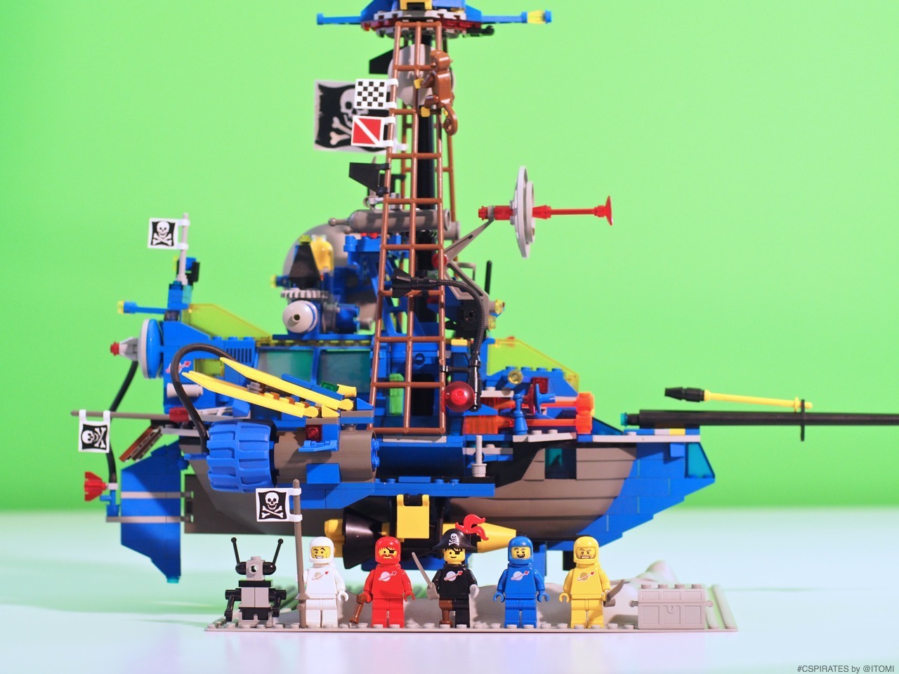 Classic Space Pirates su Lego Ideas