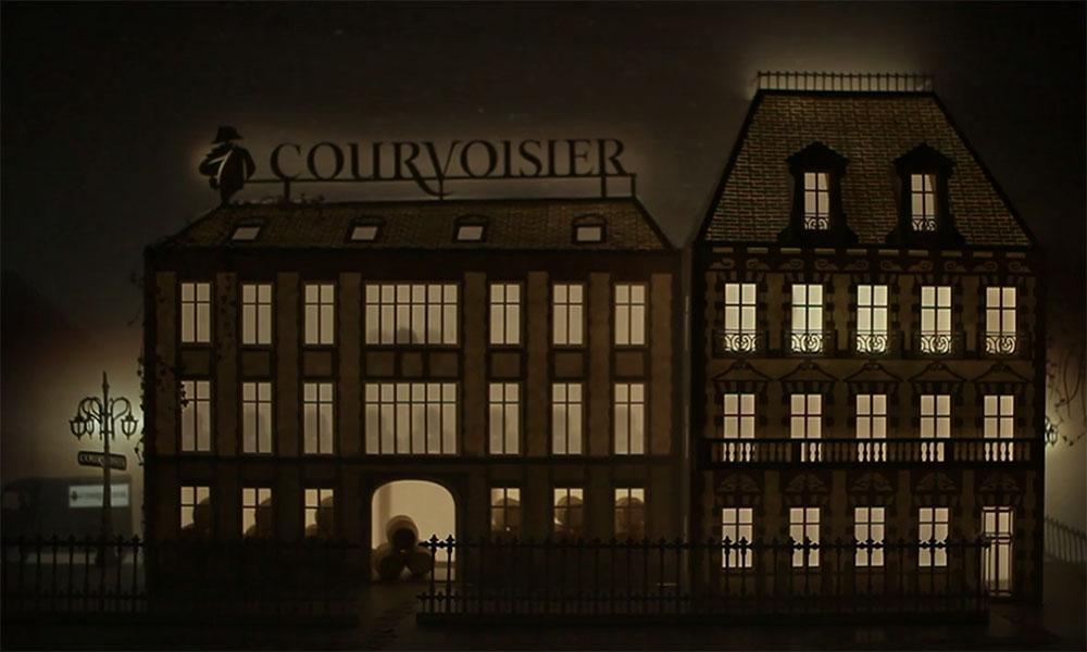 Alchimie de Courvoisier - Paper Diorama