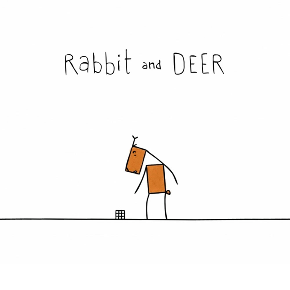 Rabbit and Deer - Cortometraggio