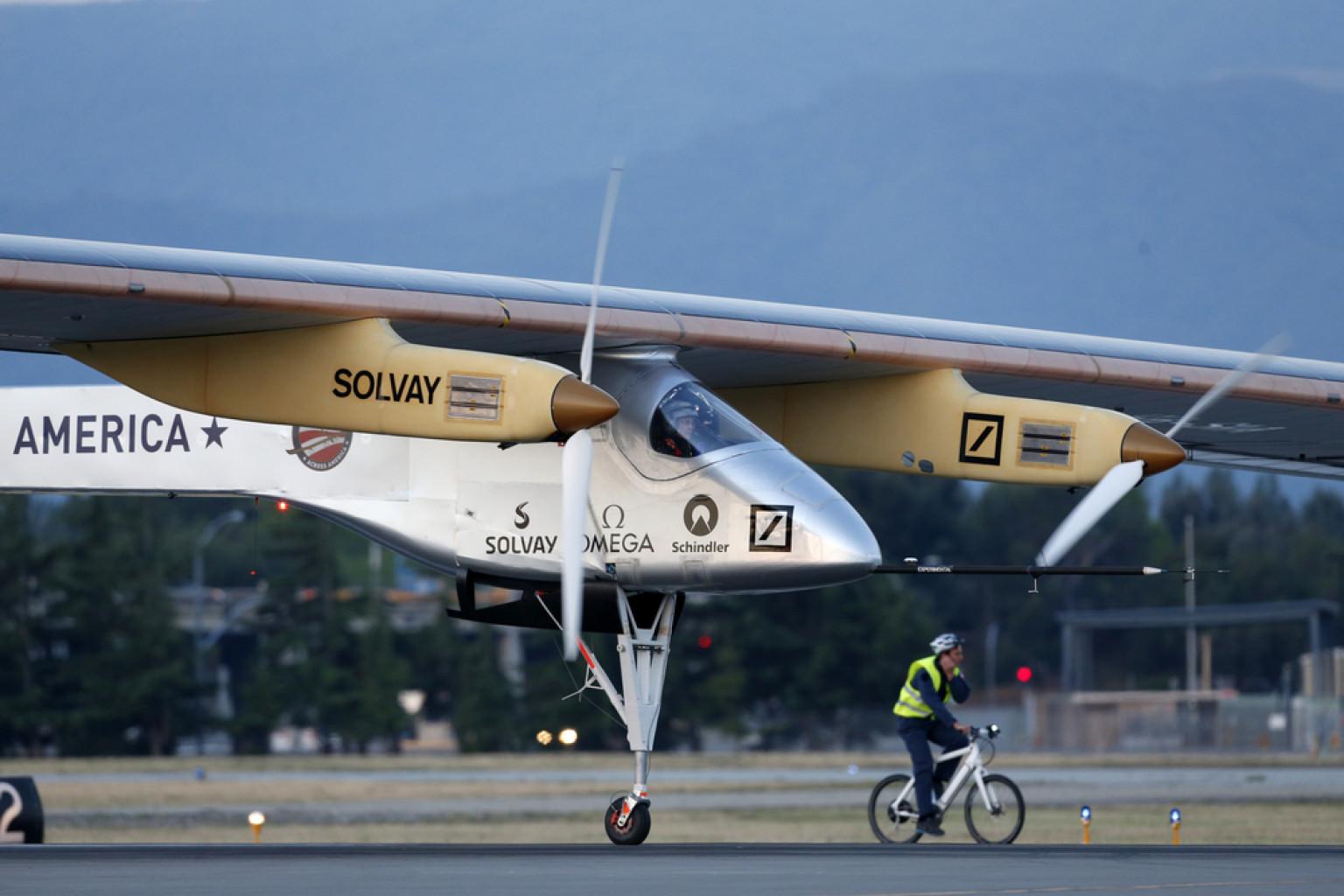 Solar Impulse farà il giro del mondo senza carburante